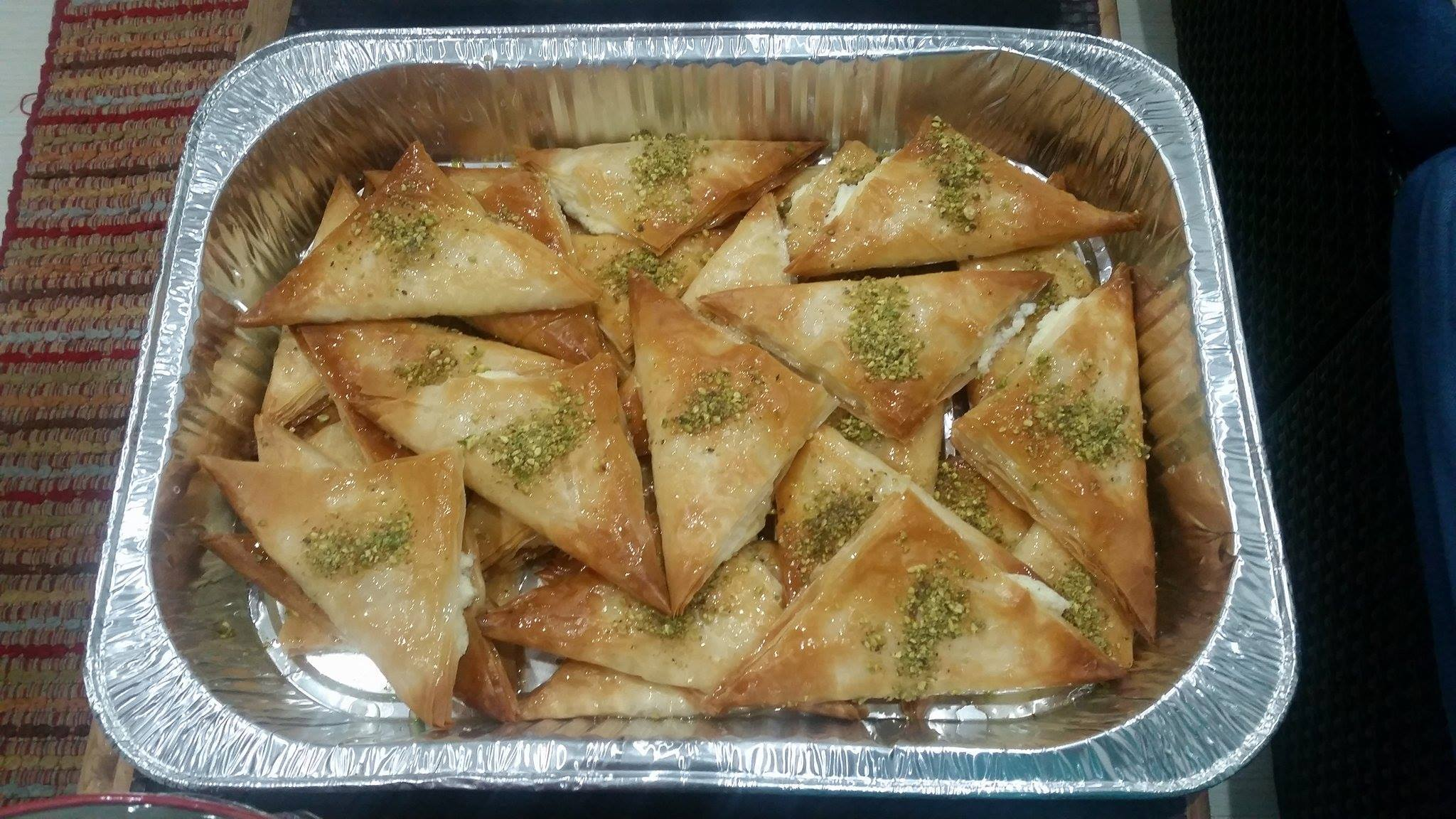 Delicious Warbaat catered by Tayybeh for PeaceHack by SFU and PeaceGeeks